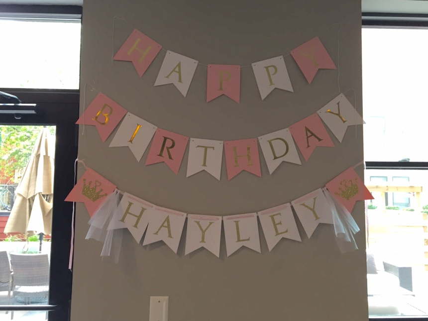 Princess Birthday Party Banner